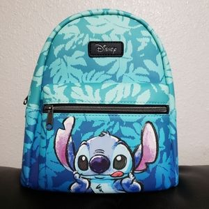 Hawaiian Tounge Stitch Mini backpack by Loungefly